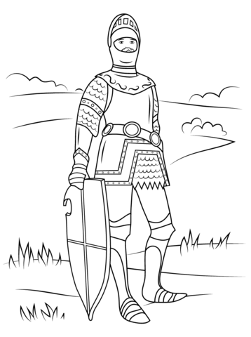358x480 King Arthur Coloring Page Free Printable Coloring Pages