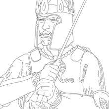 220x220 King Arthur Coloring Pages