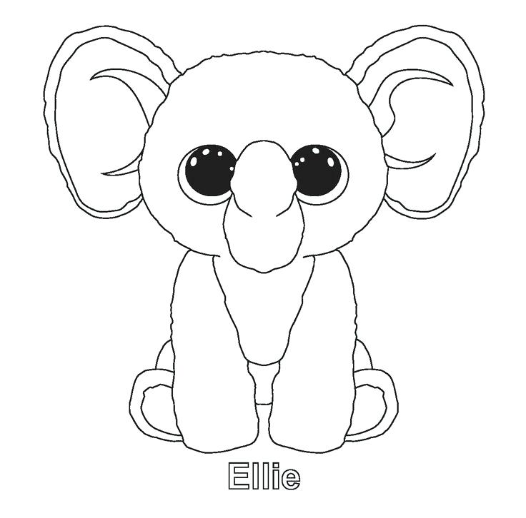 736x726 Ideas Beanie Boo Coloring Pages For Beanie Boo Coloring Pages King