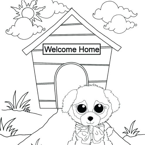 494x494 Best Of Collection Of Beanie Boo Coloring Pages