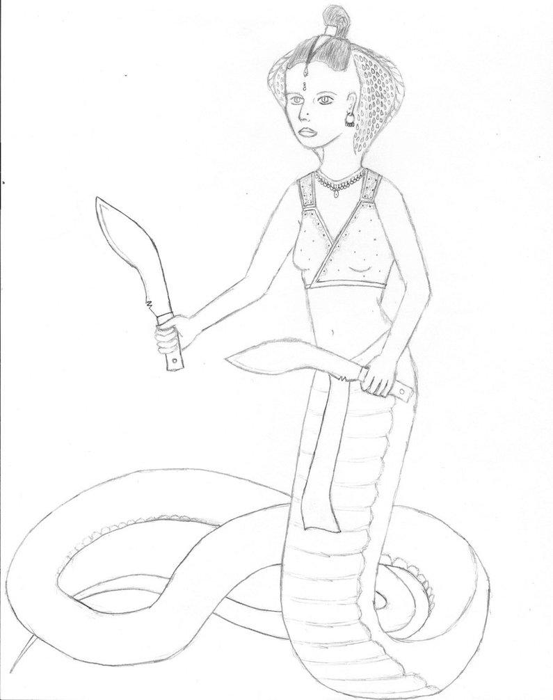 795x1006 Indian King Cobra Yuan Ti 1 By Vitalember