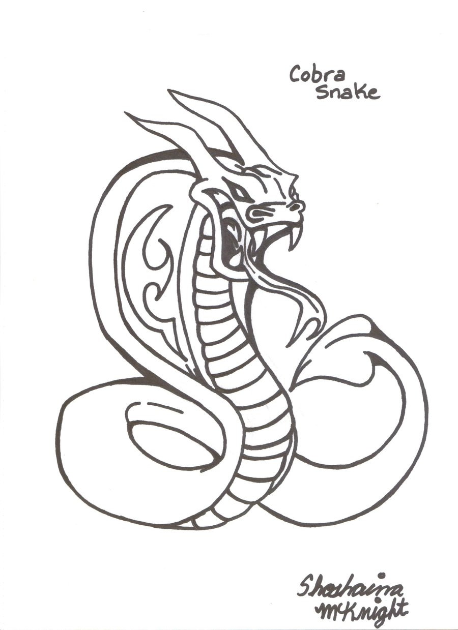 900x1239 Collection Of King Snake Tattoo Stencil