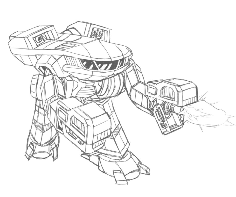978x816 Sketch King Crab Battlemech By Prdarkfox