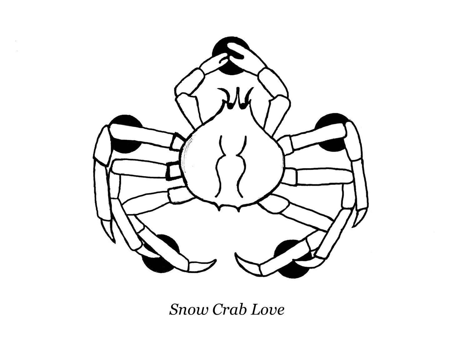 1456x1125 Snow Crab Love October 2011