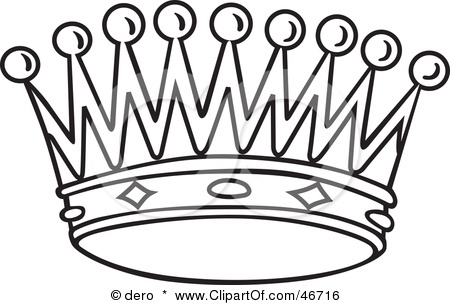 450x305 Crown Clipart Black And White King Crown Clip Art Black And White