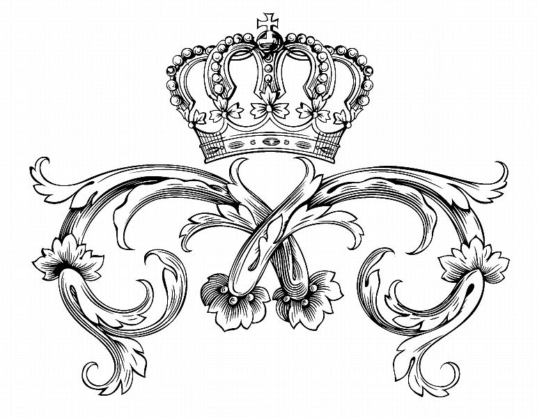 771x600 Free Printable King Crown Coloring Page Free Coloring Book Picture
