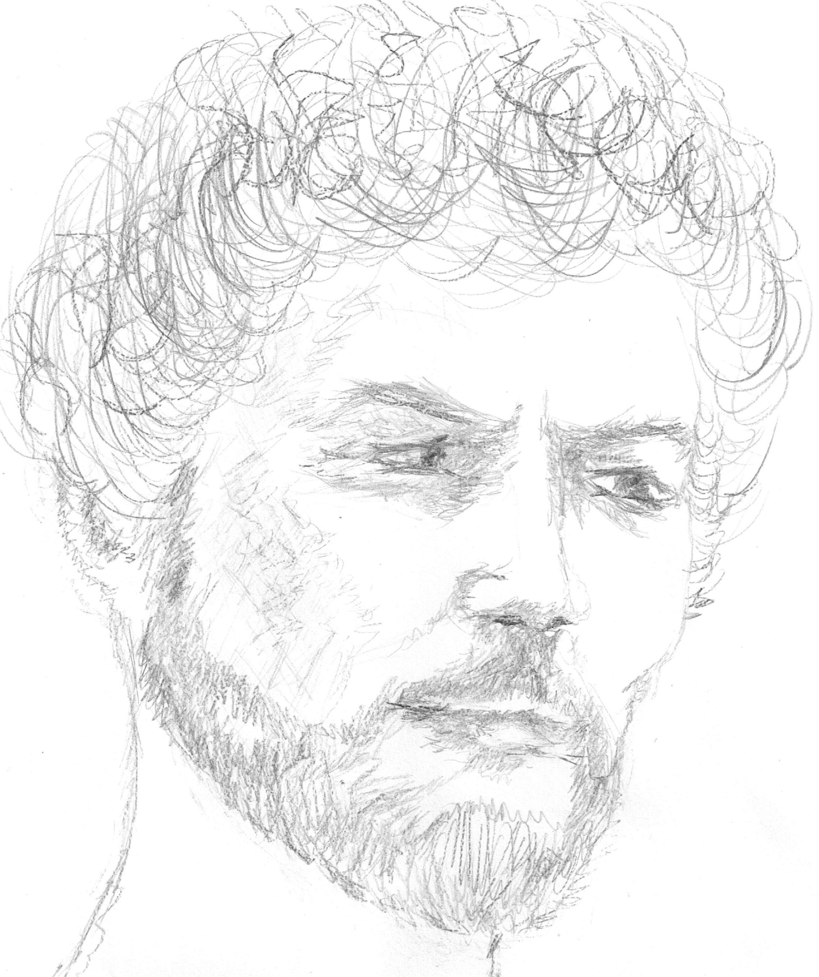 2618x3123 Gail's Accurate Drawing Of Her Ancestor King David Of Israel