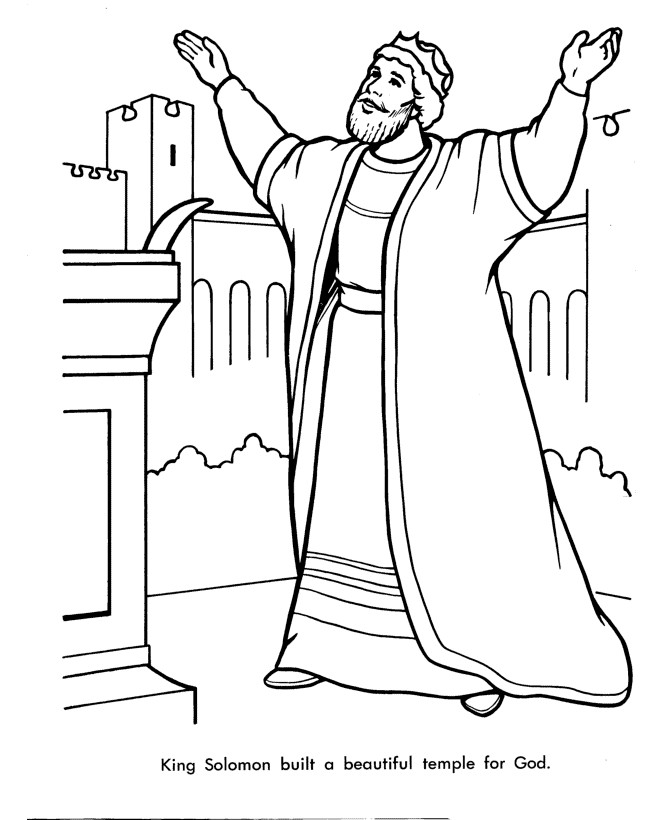 670x820 Innovative King David Coloring Page Playing The Harp