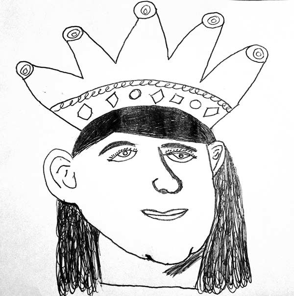 600x603 Kids' Time Contests King Or Queen Drawing Contest 11 14