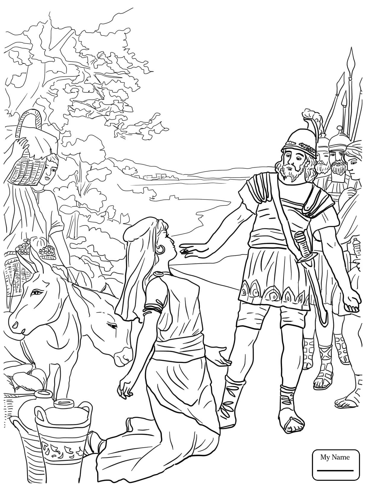 king david in the bible coloring pages | King David Drawing at GetDrawings.com | Free for personal ...