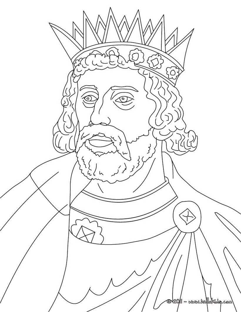 820x1060 King Henry Iii Coloring Pages