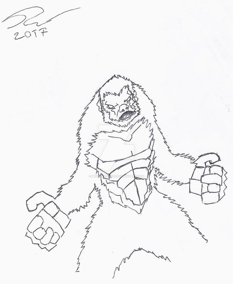 King Kong Drawing At Getdrawings Com Free For Personal Use King