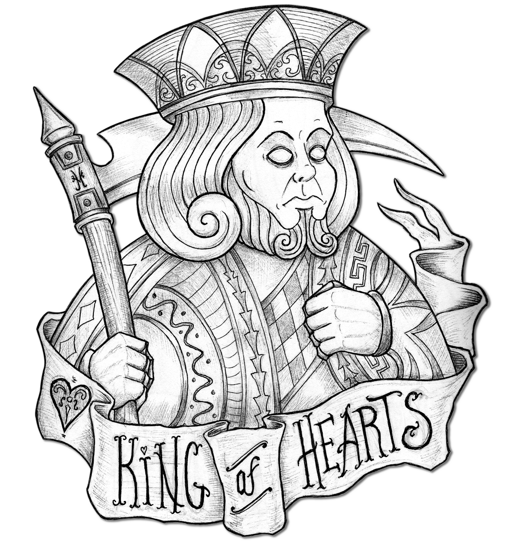 2539x2717 King Of Diamonds By Edward Morte