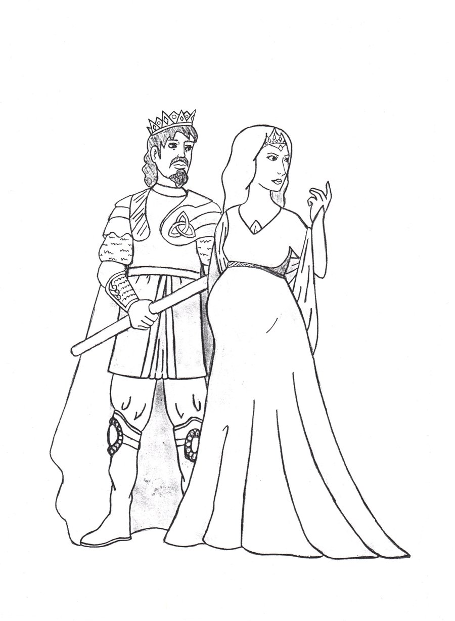 900x1227 King Cornelius And Queen Katerina By Dragonlady027