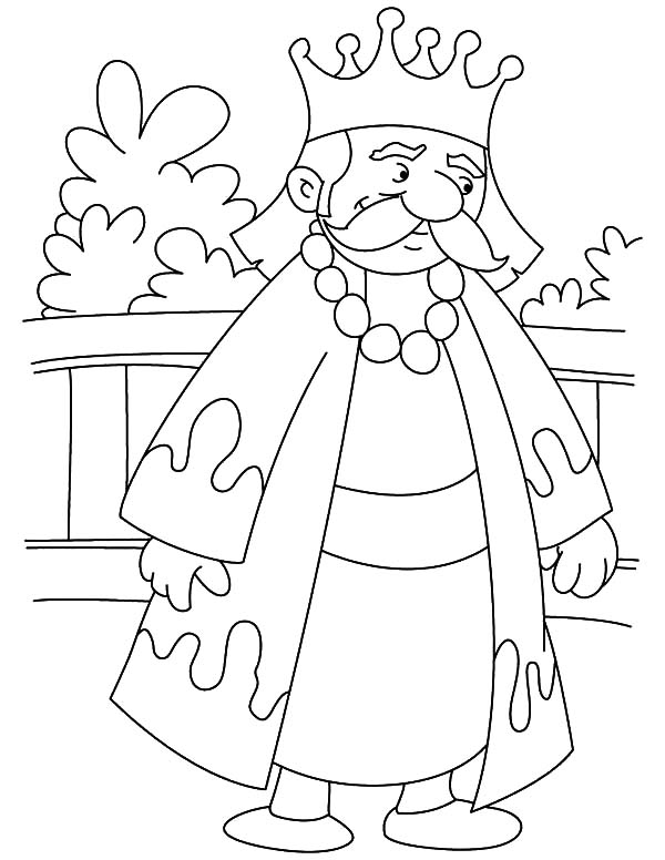 600x776 King On Throne Coloring Page Bible Character Coloring Pages