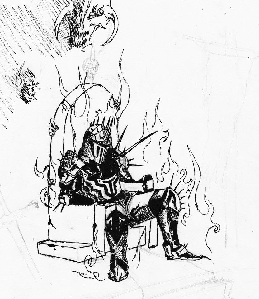 832x959 King Sketch 3 By Satroa