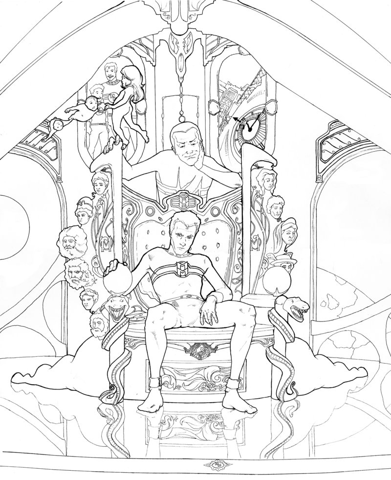 800x981 Miracleman Throne Of Olympus By Martinszymanski