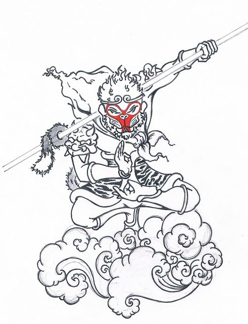 491x640 My Next Tattoo Monkey King King Tattoos And Monkey