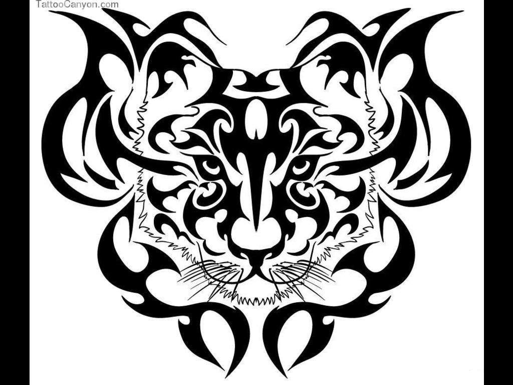 1024x768 54 Trending Tiger Tattoos Ideas For Your Skin