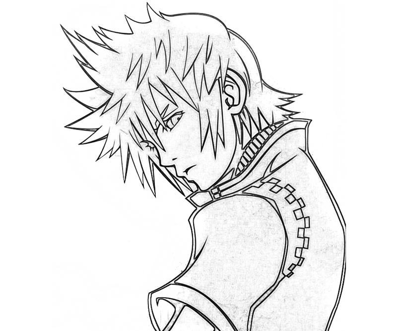 800x667 Kingdom Hearts Roxas Characters Yumiko Fujiwara