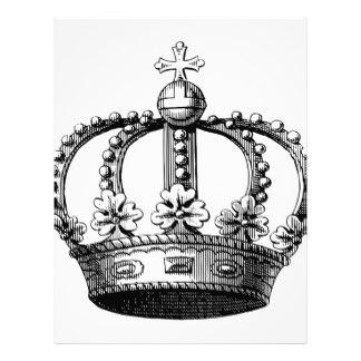 324x324 Vintage Royal Crown Letterhead Zazzle