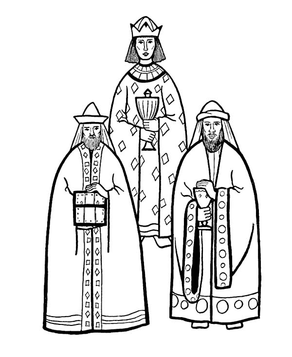 600x734 Drawing Three Kings Coloring Pages Batch Coloring