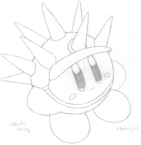 Kirby Drawing at GetDrawings.com | Free for personal use ...
