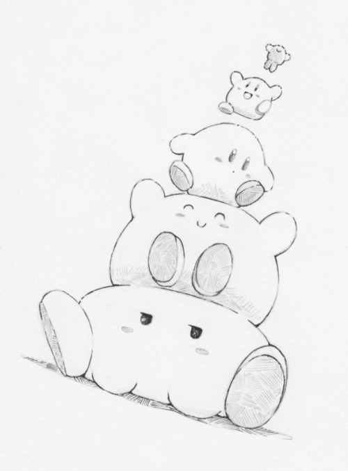 500x677 Sketch 1531 Is A Quick Kirby Stack Because I Need
