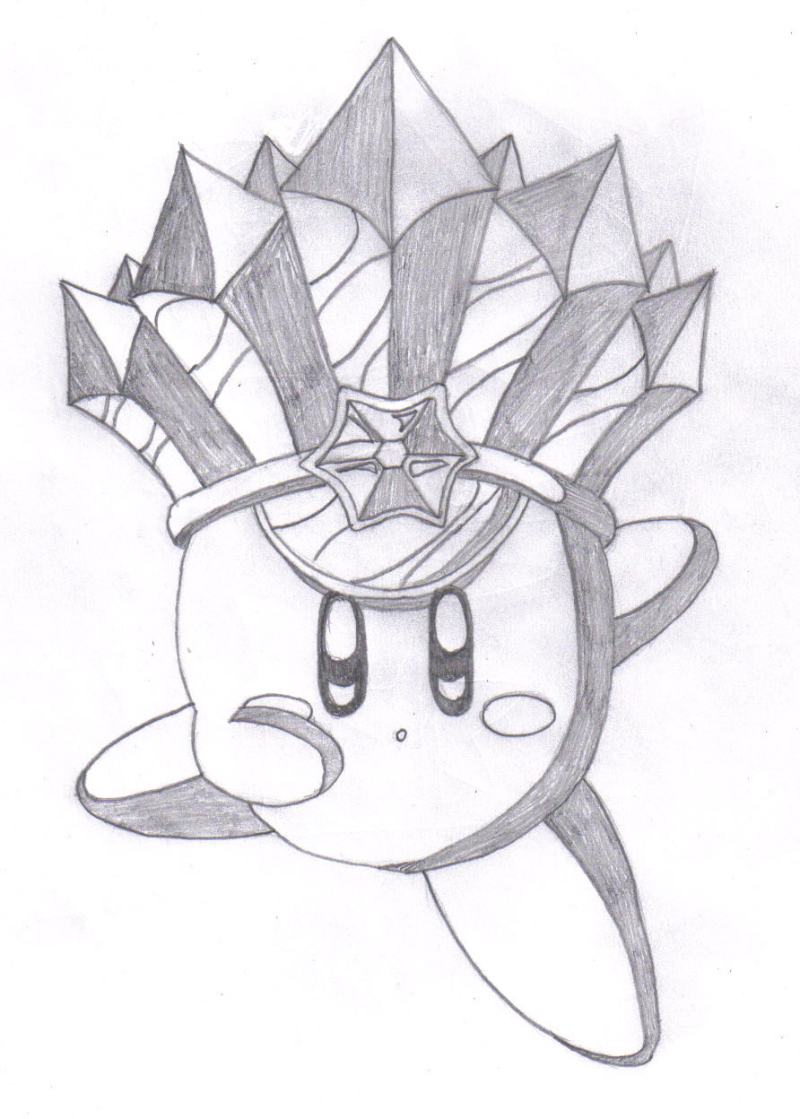 892x1248 Ultra Sexy Ice Kirby Drawing By Meowmaster789