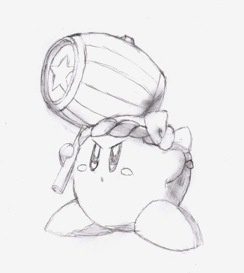 Wonderful Kirby Coloring Pages Powers Photos Example