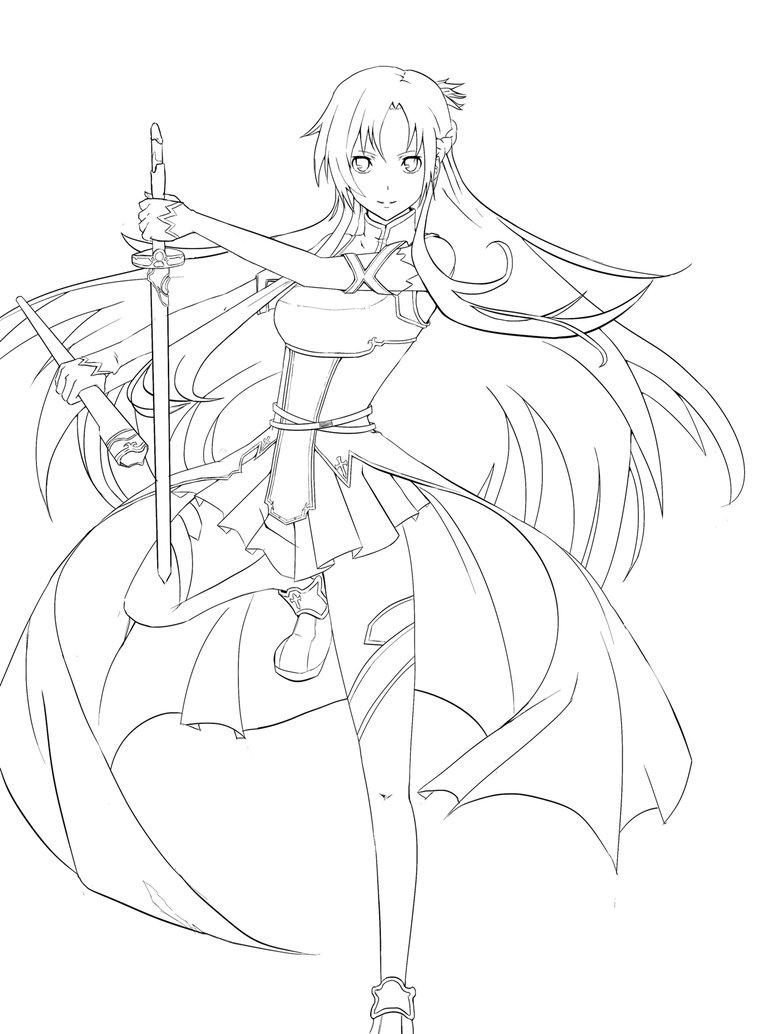 Kirito Sword Drawing