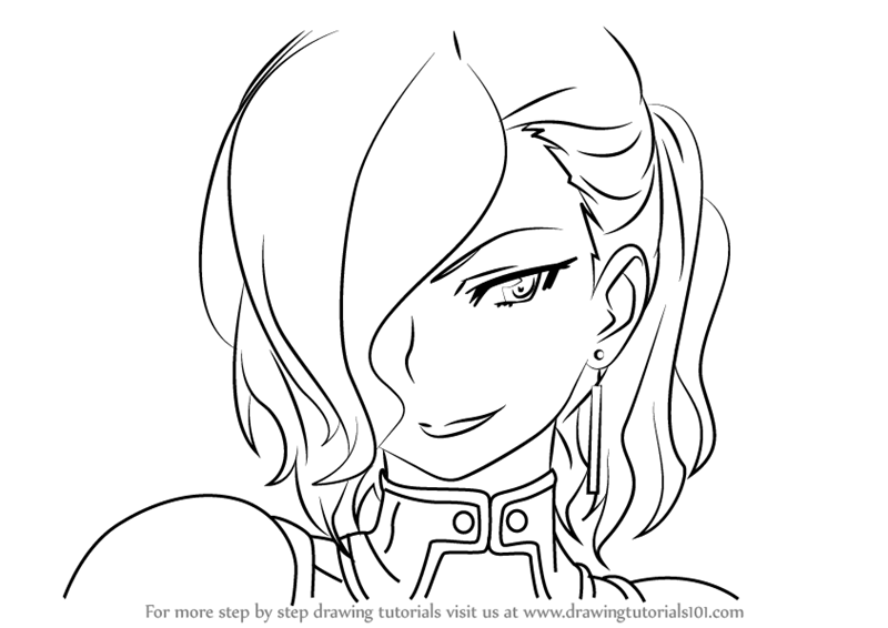 800x566 Learn How To Draw Rosalia From Sword Art Online (Sword Art Online