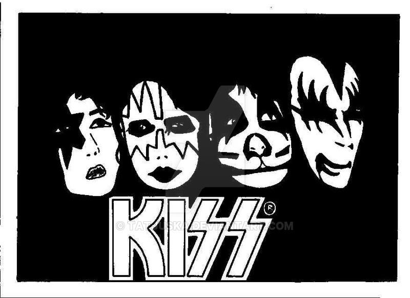 800x582 Kiss Band By Tatjuska