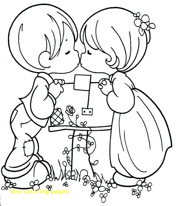 684x800 Kiss Band Coloring Pages Drawn Lips Page Printable Coloring
