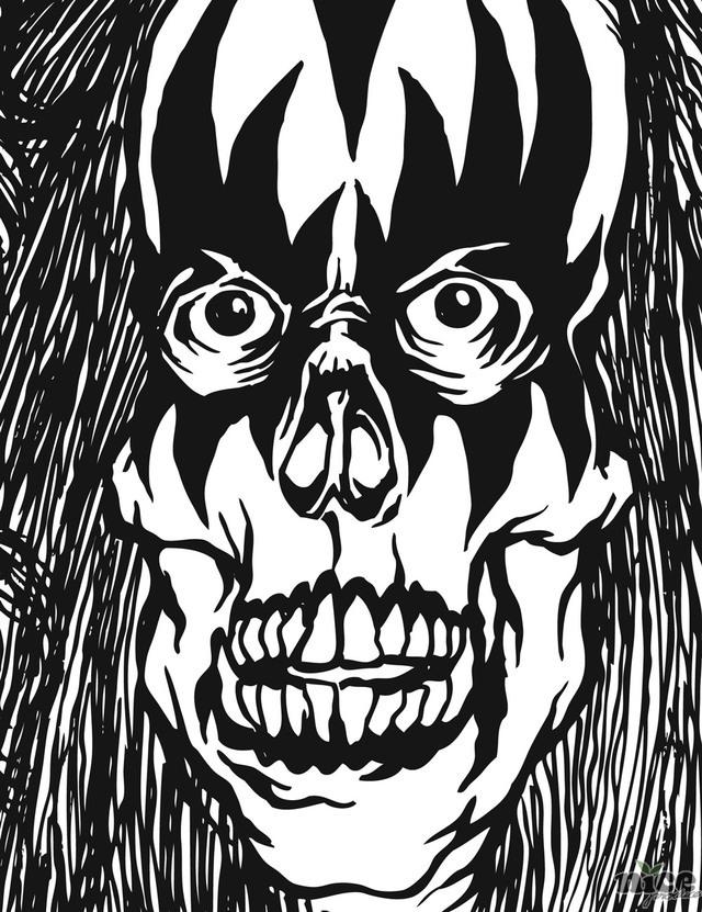 640x831 Ben Brown Zombie Kiss