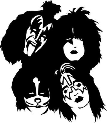 Kiss Band Drawing At Getdrawings Com Free For Personal