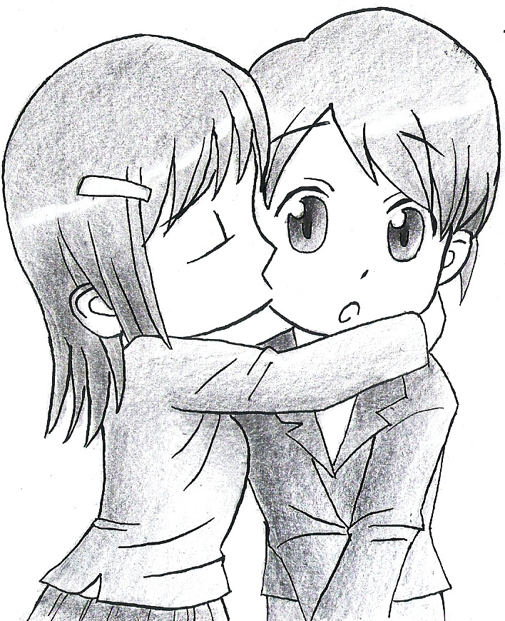 Kiss Drawing At Getdrawings Com Free For Personal Use Kiss Drawing