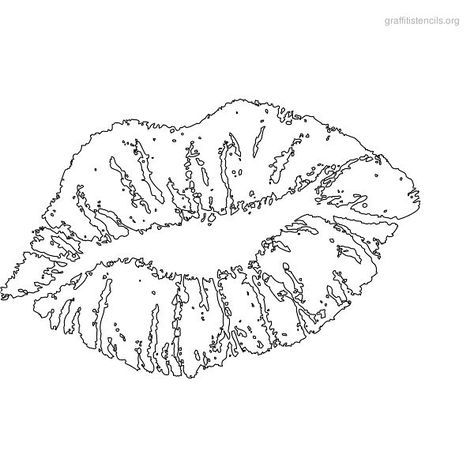 Kiss Lips Drawing