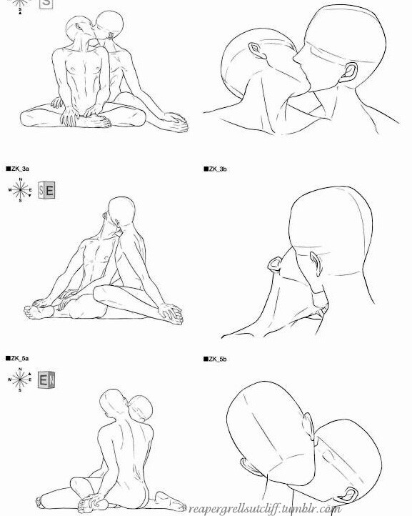 577x722 Pictures Couple Kissing Drawing Reference,