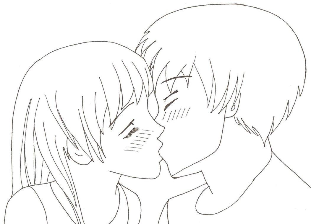 1052x759 Kissing Couple