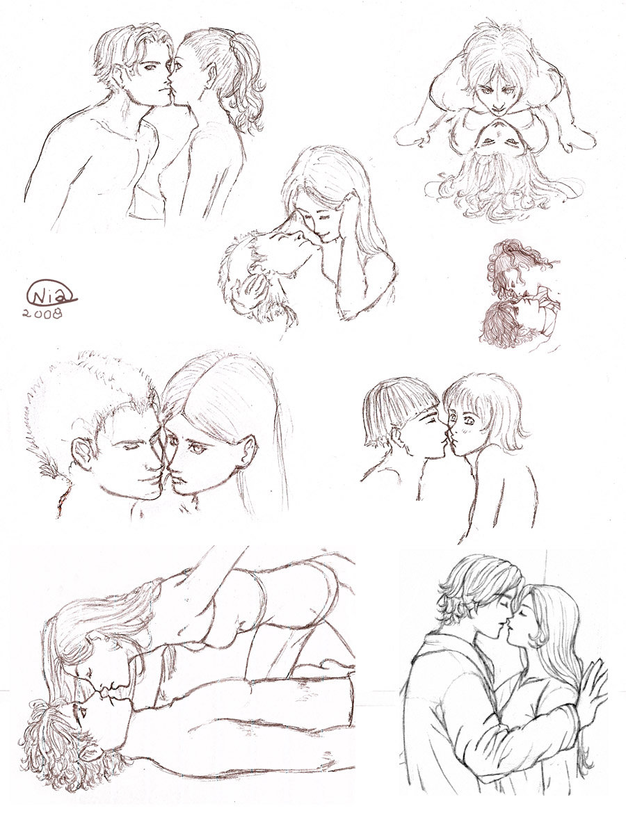 900x1169 Kissing People