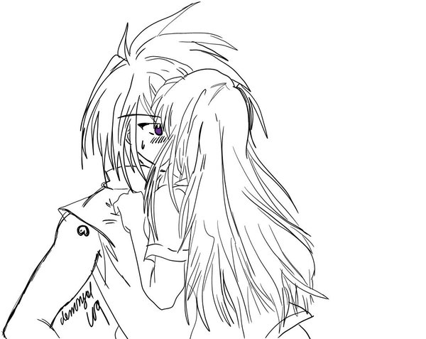 600x477 Forced Kiss Upon His Lips By Demongal109