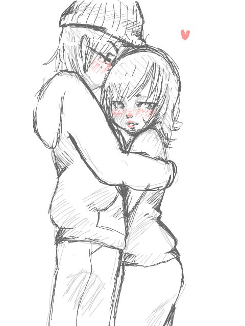 480x640 gallery anime couples sketch
