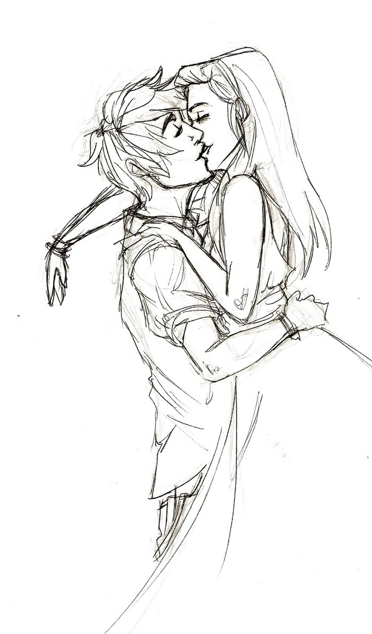 736x1254 Hd Cute Boy And Girl Kissing Sketch Easy Girl And Boy Kiss Drawing