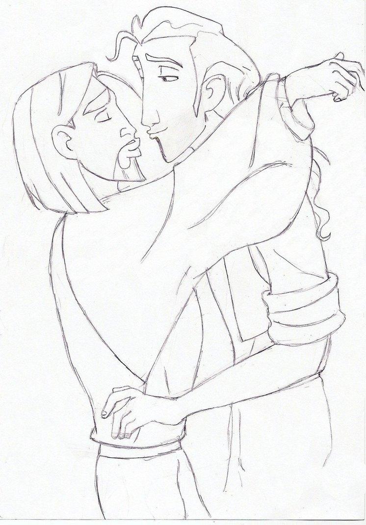 746x1070 Kissyface Migulio Sketch By Lorazoronicktrance