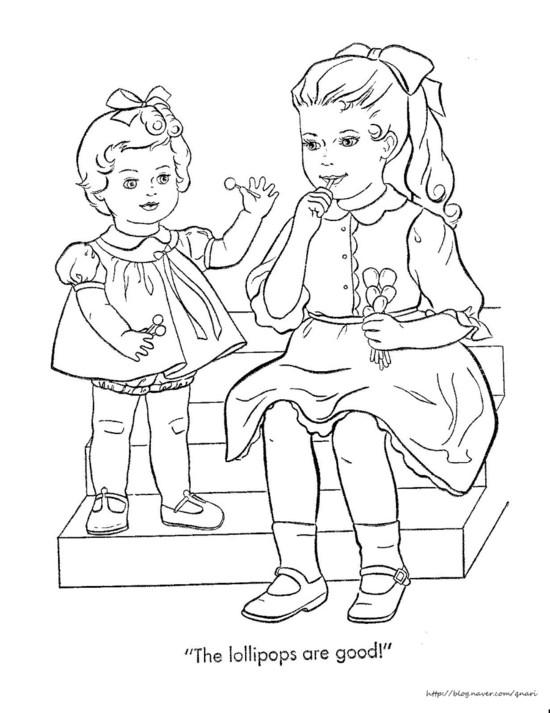 550x713 Coloring (Kissy) Naver Blog Books Coloring