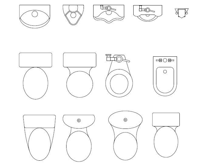 685x541 Ilet Symbol Floor Plan Gallery Toilet
