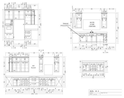 500x396 Kitchen Cabinet Layout Home Designs Idea