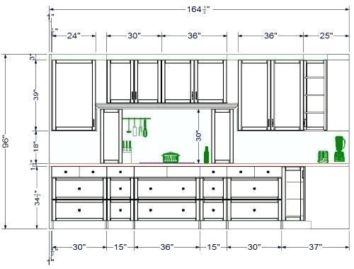 500x379 Kitchen Cabinet Sizes