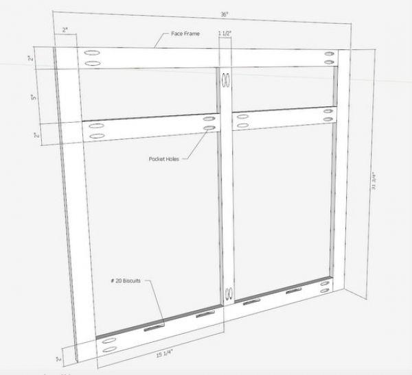 600x547 Kitchen Cabinets